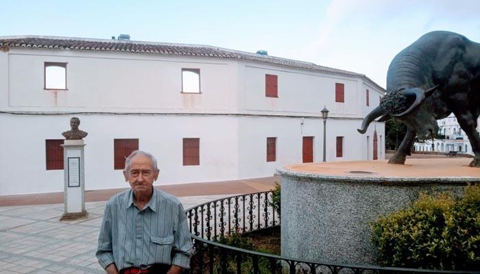 Justo Pernia en el espacio más taurino de San Roque