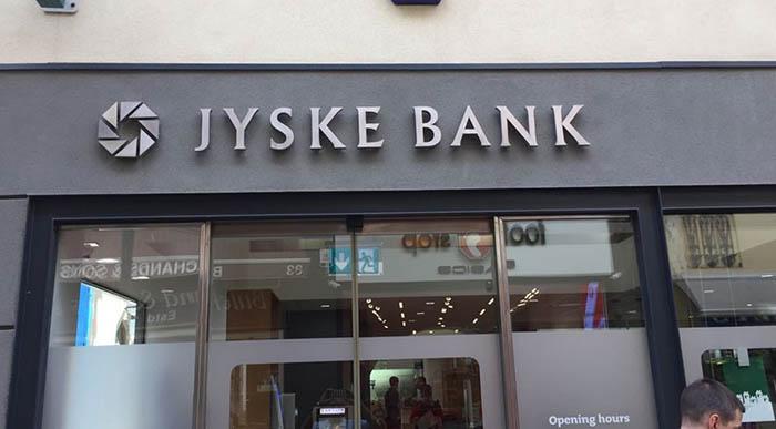 Oficina bancaria en Gibraltar. Foto NG
