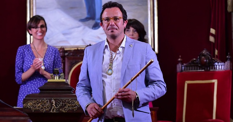 José María González 'Kichi', miembro del Grupo Provincial de Adelante Cádiz