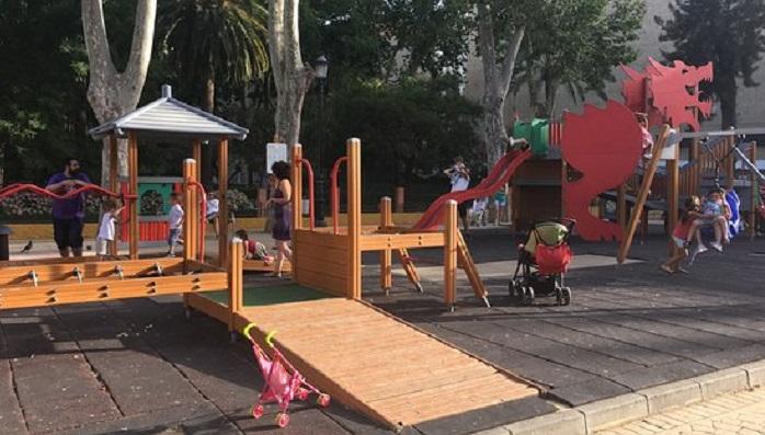 Los parques de Algeciras reabren con medidas de seguridad