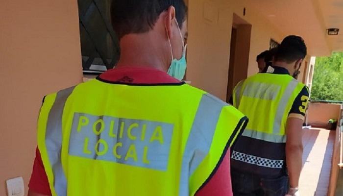 La Policía Local de Algeciras se vuelca con los más necesitados