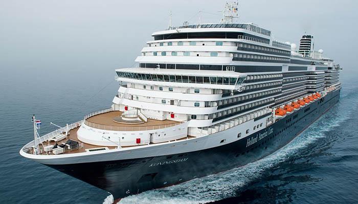El crucero Koningsdam