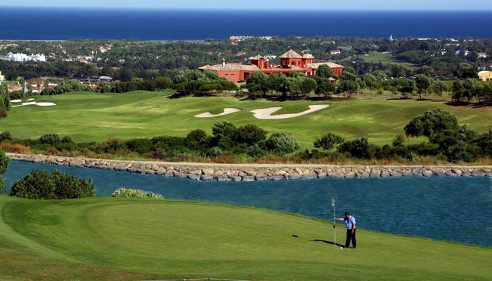 El club de golf La Cañada, en Guadiaro