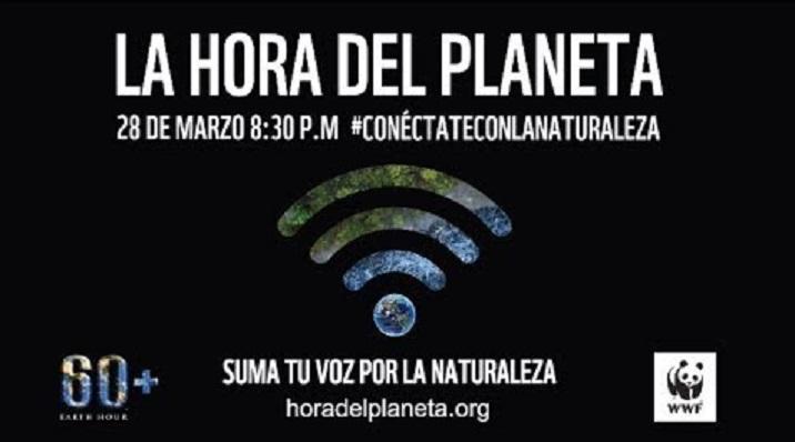 'La Hora del Planeta' tendrá lugar este sábado a las 20.30 horas