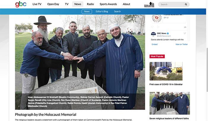 La imagen de la controversia, publicada por GBC