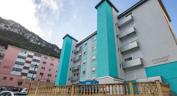 Zona de Laguna Estate en Gibraltar