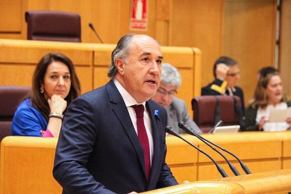 José Ignacio Landaluce, en el Senado