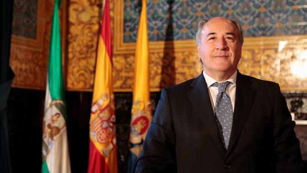 José Ignacio Landaluce, alcalde de Algeciras. Foto: algeciras.es