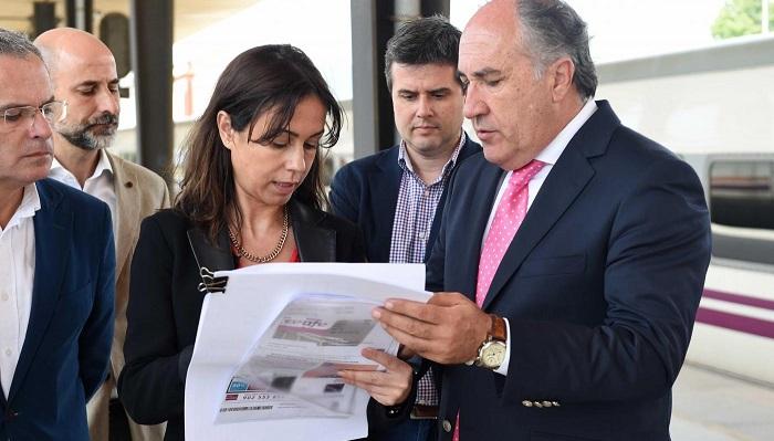 Landaluce vuelve a demandar mayor inversión en el tren Madrid-Algeciras