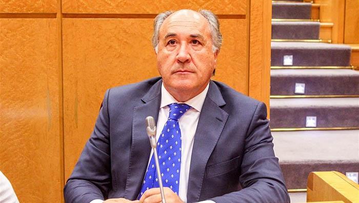 El senador del PP, José Ignacio Landaluce