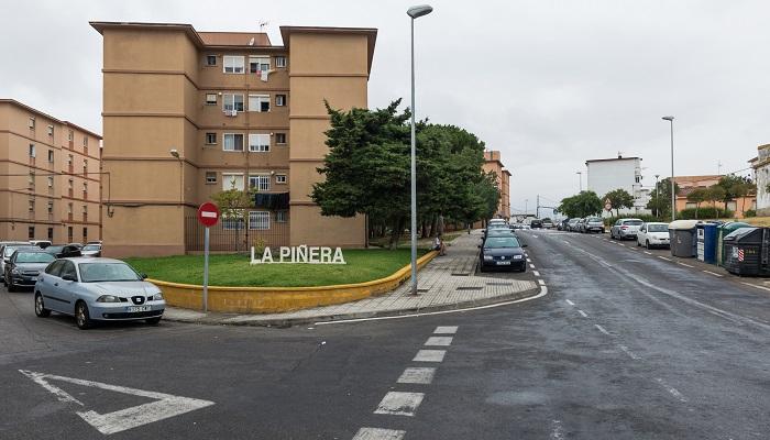 Imagen parcial del barrio de La Piñera