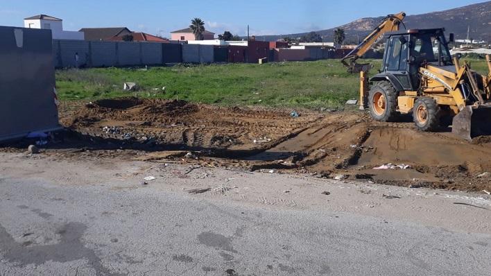 Algunos de los trabajos llevados a cabo por la Delegación Municipal de Limpieza