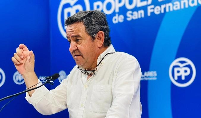 José Loaiza, portavoz del Grupo Popular en la Diputación de Cádiz