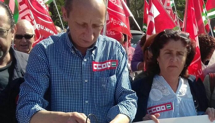 CCOO llama a la participación en la movilización por el ferrocarril en Algeciras
