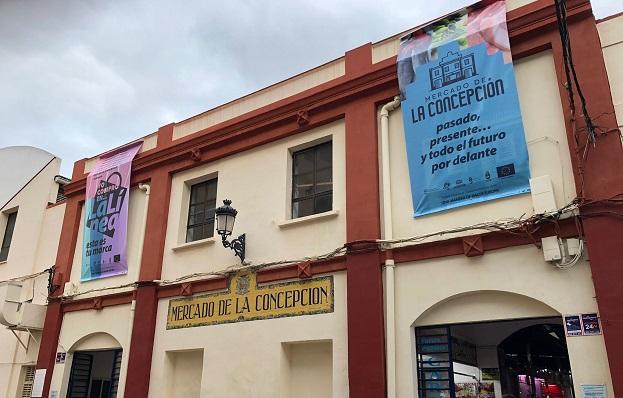 Exteriores del Mercado Municipal linense. Foto: lalínea.es