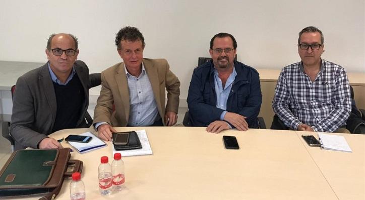 Pérez-Periáñez, a la izquierda, en una imagen reciente del GT