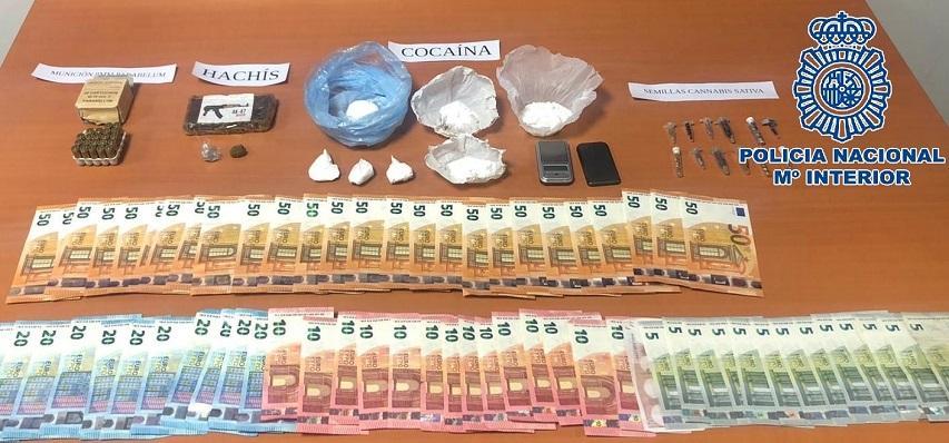 Además de droga en la operación fueron requisados otros elementos