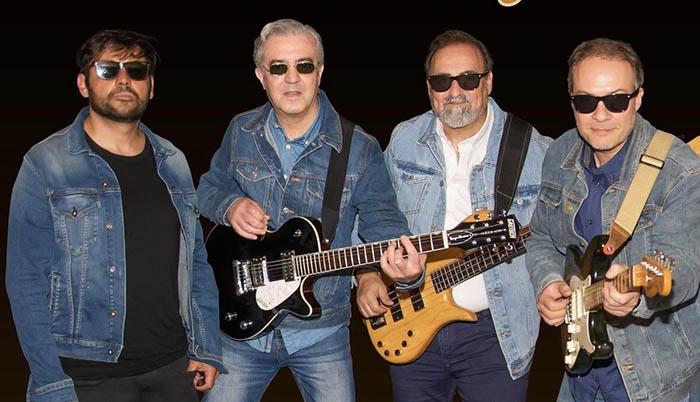 El grupo actual. De izquierda a derecha: Jesús de la Yesca, Ángel Cañamero, Vito Fernández y Pedro Guillén
