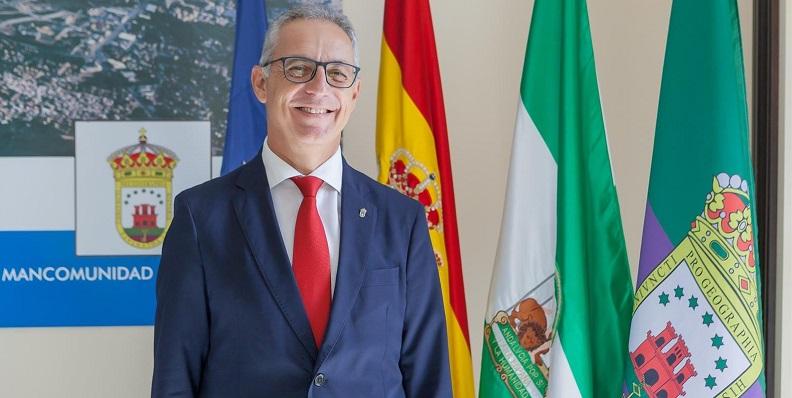 Juan Lozano, presidente de la Mancomunidad de Municipios del Campo de Gibraltar