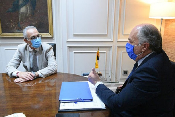 Juan Lozano y José Ignacio Landaluce, en una imagen de archivo. Foto: NG