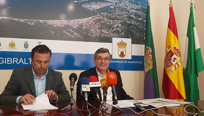Luis Angel Fernández presidente de la Mancomunidad Campo de Gibraltar