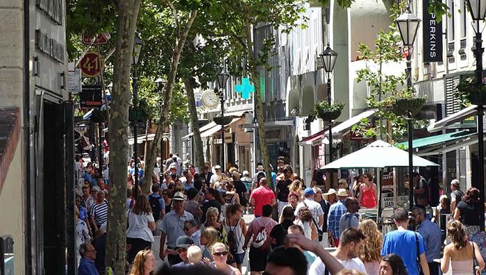 Calle comercial de Gibraltar