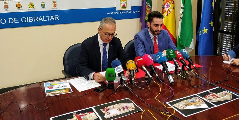 Juan Lozano y Daniel Perea, hoy en rueda de prensa