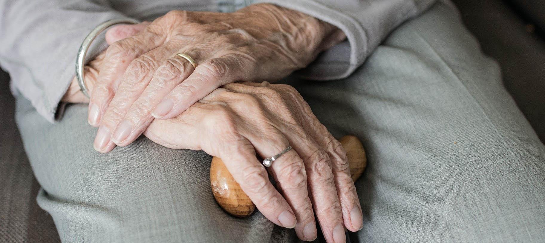 Eran personas atendidas en los Servicios Asistenciales para Ancianos. Foto NG