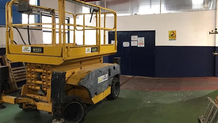 Una de las máquinas que realizará el estudio en el Mercado