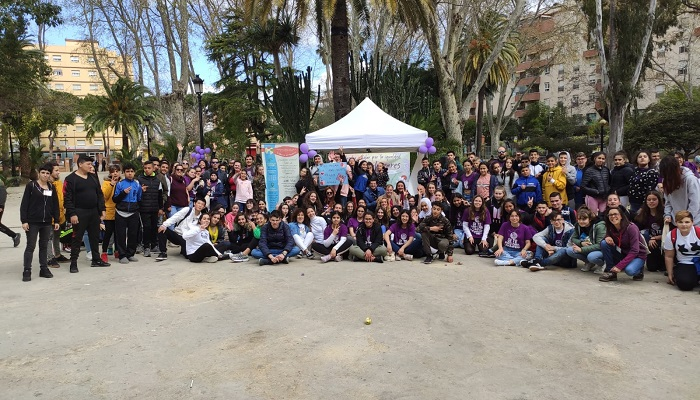 Algeciras celebra la IIª Marcha Escolar por la Igualdad