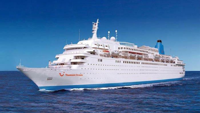 "Imagen de archivo del crucero ""Marella Dream"""