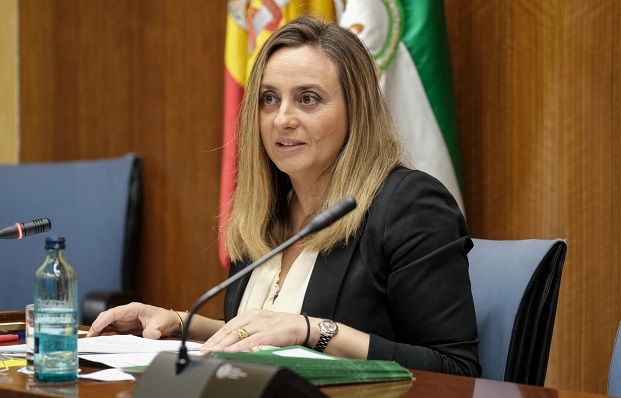 Marifrán Carazo, en sede parlamentaria