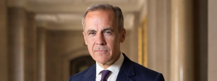Mark Carney es el gobernador del Banco de Inglaterra