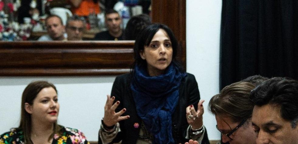 Marlene Hassan-Nahon, líder del Together Gibraltar. Foto NG