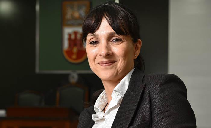 La líder de Together Gibraltar, Marlene Hassan Nahon