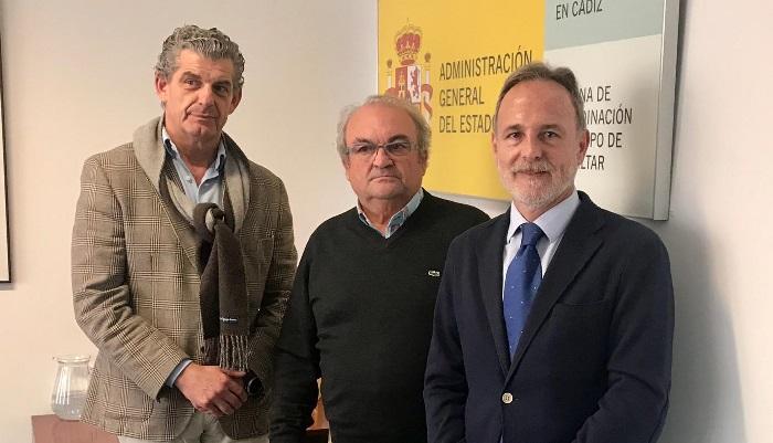 José Medina, Florencio Alonso y Salvador de la Encina