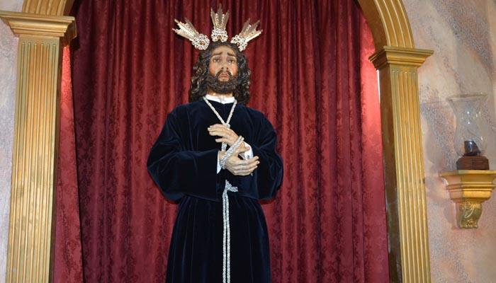 Medinaceli en la capilla de la Santísima Trinidad, en  Los Olivillos