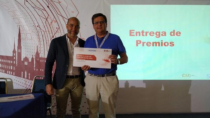 Un médico del Hospital de La Línea, premiado por la Sociedad Española de Documentación Clínica