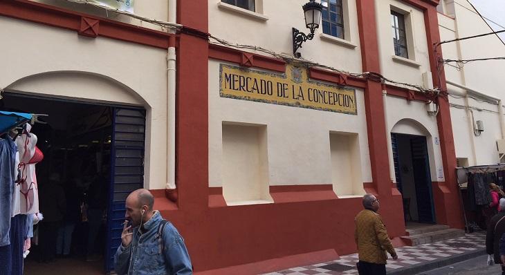 Fachada principal del Mercado de La Línea