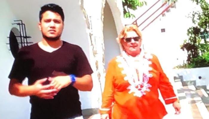 """Captura del programa televisivo """"Españoles por el mundo"""""""