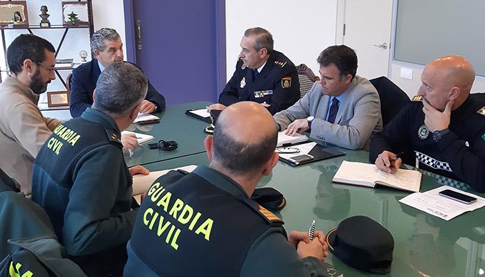 Mesa Técnica de Seguridad celebrada en La Línea