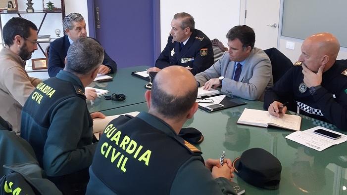 Policía Local, Policía Nacional y Guardia Civil formarán el dispositivo