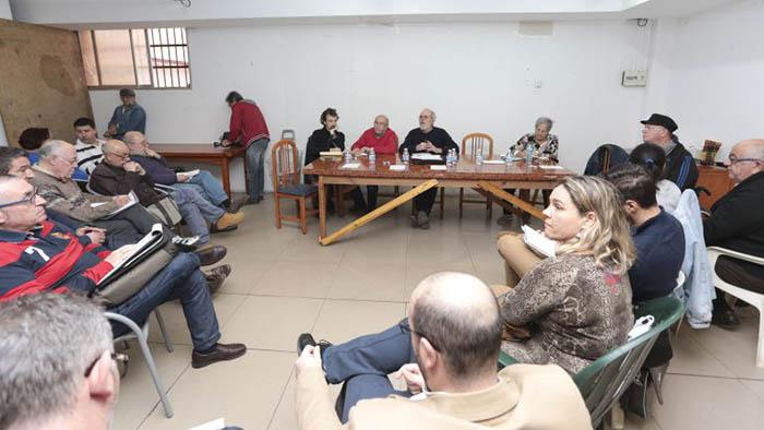 Reunión de la Mesa de Trabajo por La Línea
