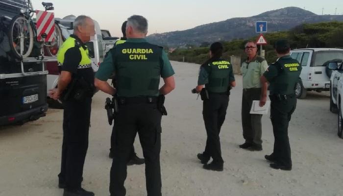 Miembros del operativo en una imagen reciente