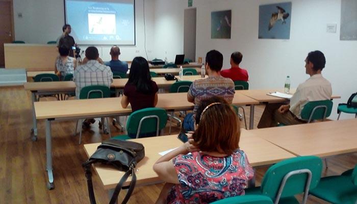 Presentación del proyecto en el CIMA