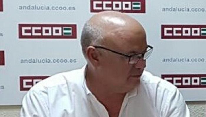 Miguel Alberto Díaz, de CCOO