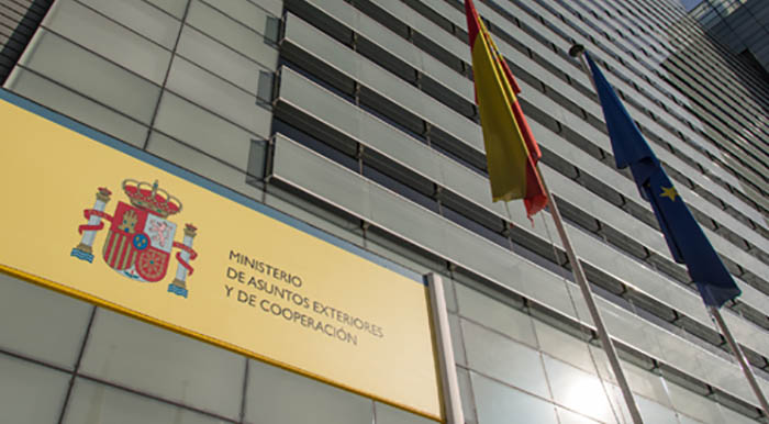 Una de las sedes del Ministerio de Exteriores español