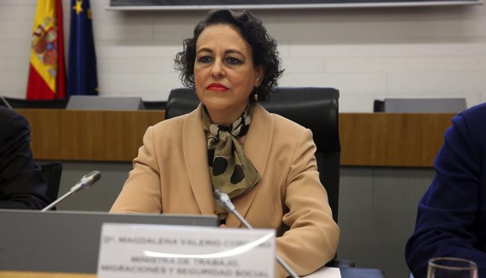 La ministra de Trabajo, Magdalena Valerio, ha anunciado el plan de empleo