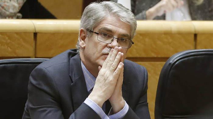 Ministro Exteriores España Dastis