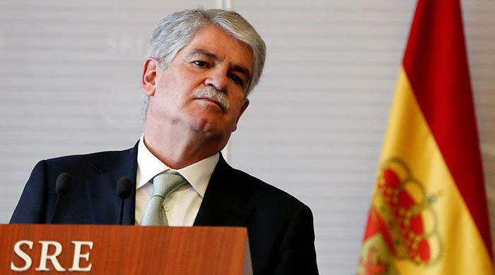 El ministro español de Asuntos Exteriores Alfonso Dastis